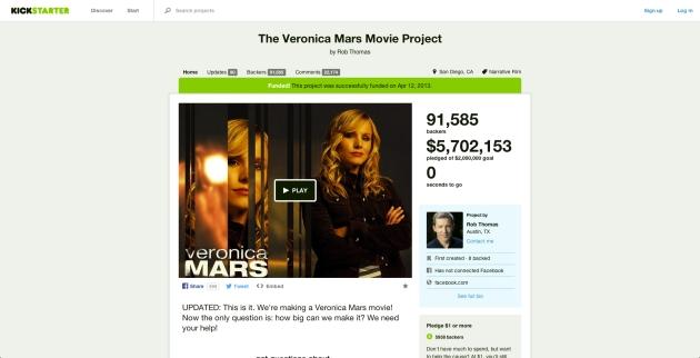 Veronica Mars campaign